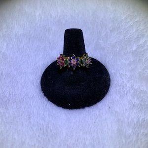 JOAN RIVERS— pink flower ring